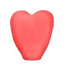 Небесный фонарик в форме сердца, цвет: в ассортименте